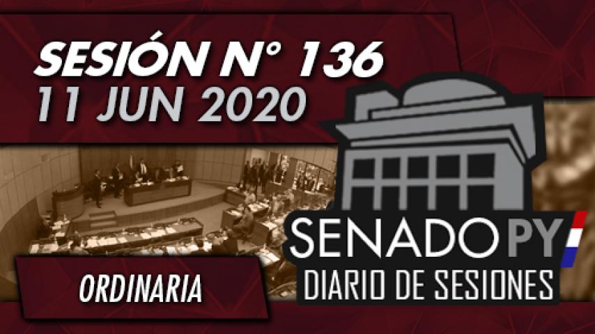 11 JUN 2020 - SO N° 136