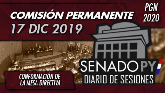 19 DIC 2019 | Comisión Permanente