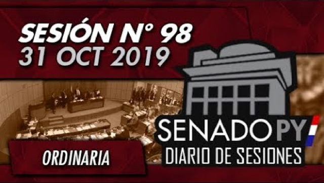 31 OCT 2019 | SO N° 98
