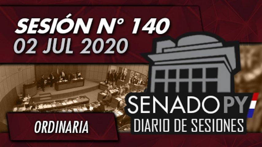 02 JUL 2020 - SO N° 140
