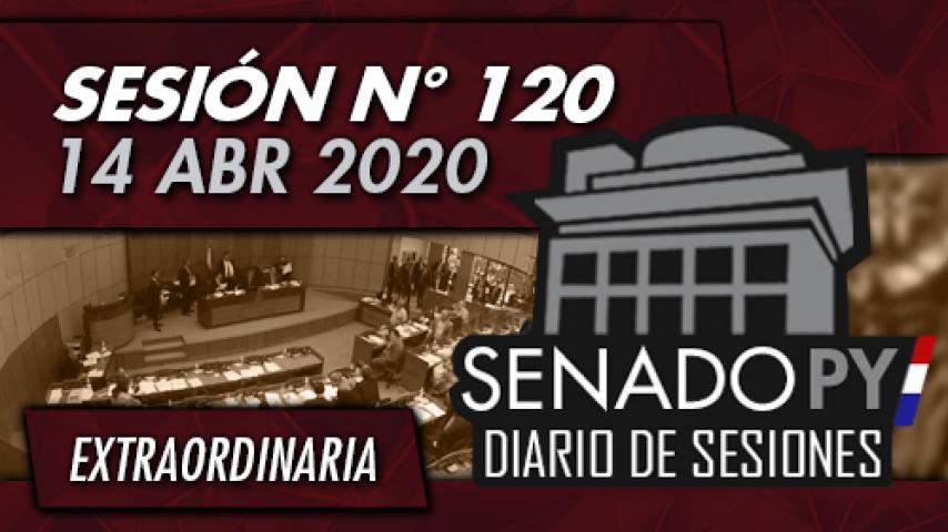 14 ABR 2020 - SE N° 120