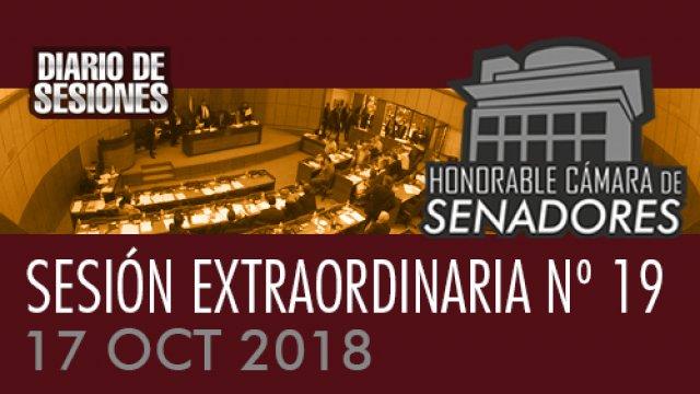 17 OCT 2018   SE Nº 19