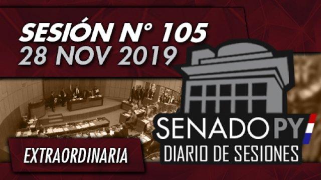 28 NOV 2019 | SE N° 105