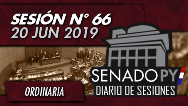 20 JUN 2019 | SO N° 66