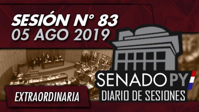 05 AGO 2019 | SE N° 83