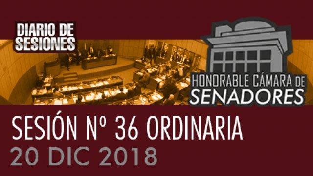 20 DIC 2018 | SO Nº 36