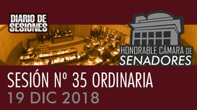 19 DIC 2018 | SE Nº 35