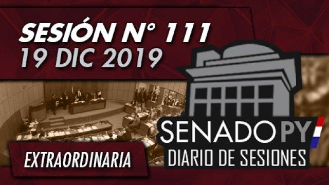 19 DIC 2019 | SE N° 111