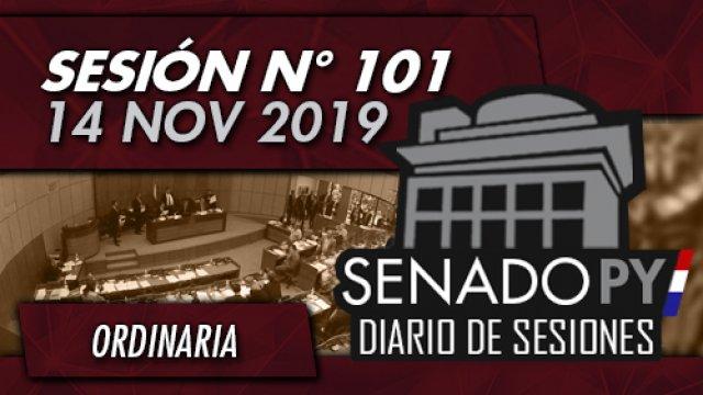 14 NOV 2019 | SO N° 101