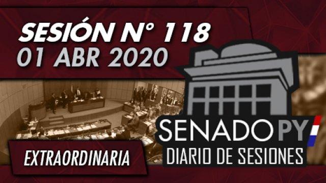 01 ABR 2020 - SE N° 118