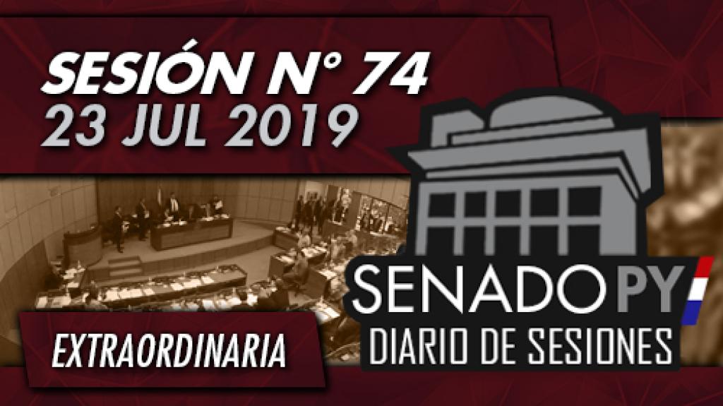 23 JUL 2019   SE N° 74