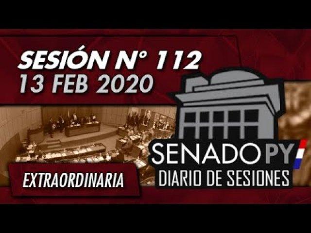 13 FEB 2020   SE N° 112