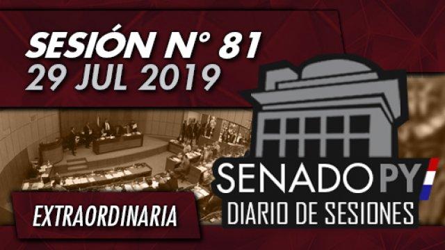 29 JUL 2019 | SE N° 81