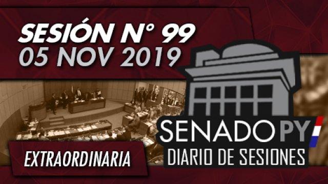 05 NOV 2019 | SE N° 99